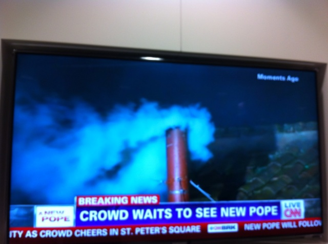 we have a pope!