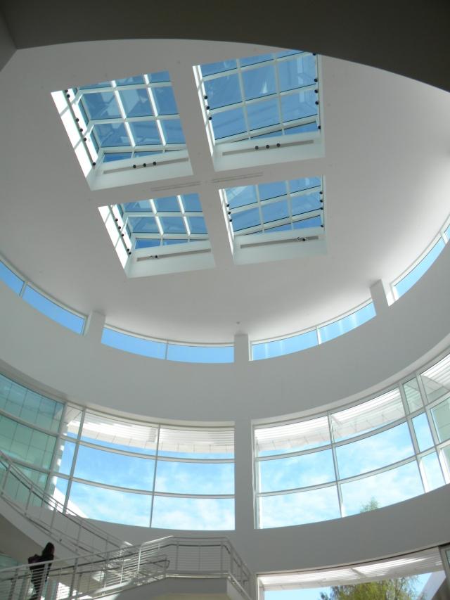 ultra modern lobby ceiling