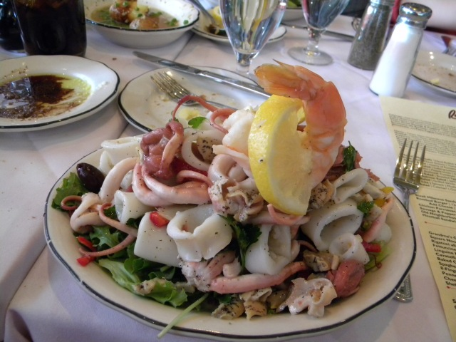 the not so good fish salad