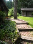 side steps