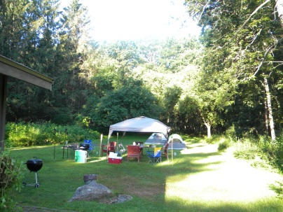 canopy set up
