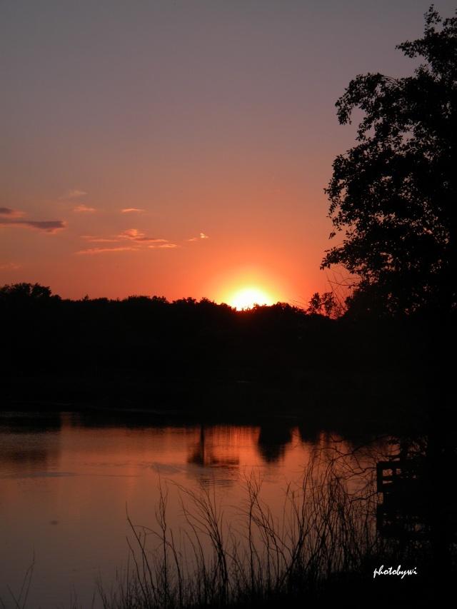 sunset at mallard lake