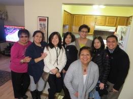 beto with the ladies :)