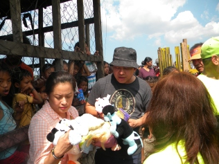 aileen and fr sunny distributing toys