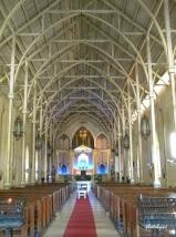 inside bantay church