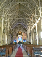 inside bantay church