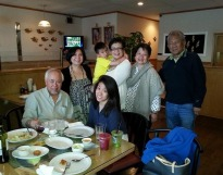 ray with conway, cocoy, angelika, eve, tj and moi
