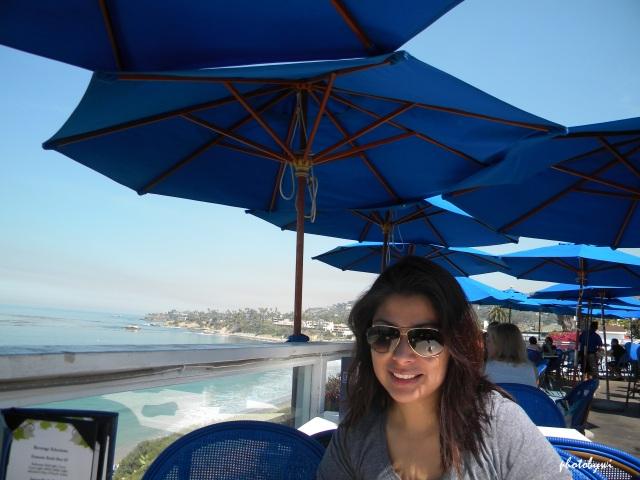 brunch at the cliff, laguna beach