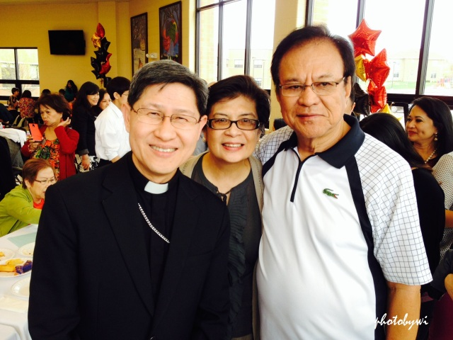 hubby and i with cardinal tagle