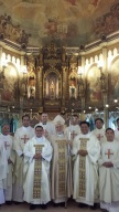 fr albert's ordination - monserrat abbey, san beda college, manila
