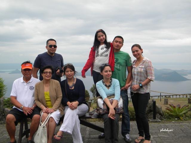 taal volcano, family