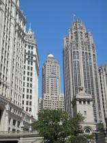 wrigley, inter-continental chicago, tribune tower