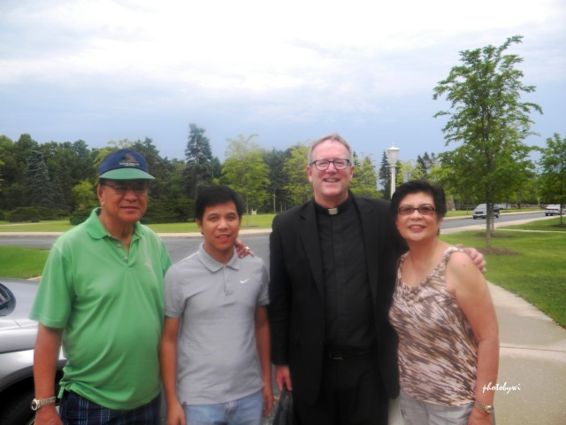 with father robert barron, mundelein seminary