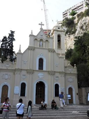 sainte devote chapel