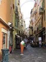 busy street in monaco-ville