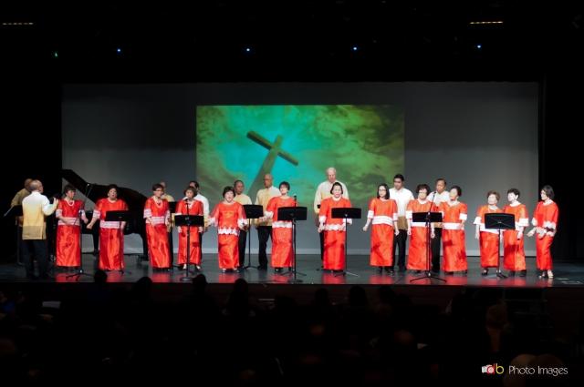 joliet simbang gabi eastern cluster choir: o bayan ng diyos