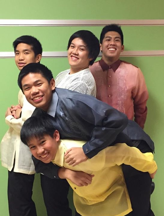 young adult: barong tagalog