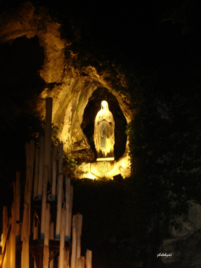 our lady of lourdes at the grotto of massabielle