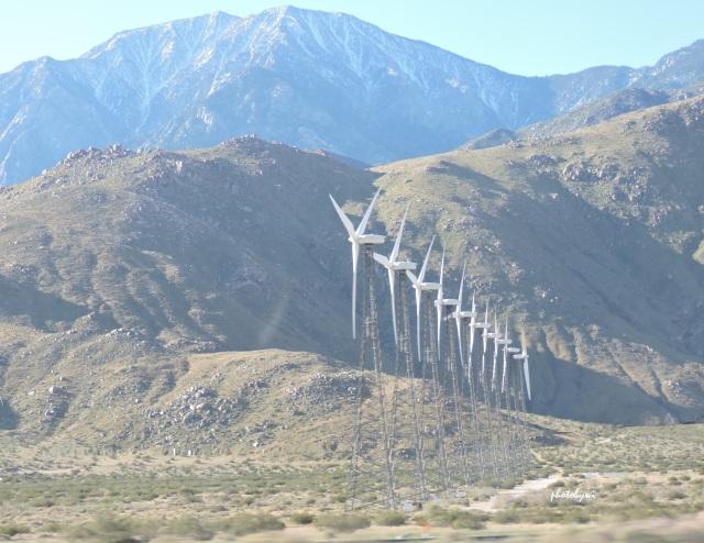 windmills, san jacinto mountains