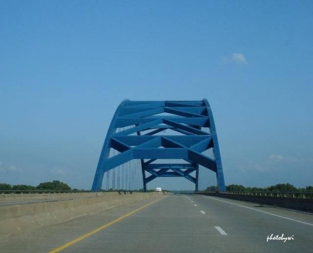 I-88 blue bridge